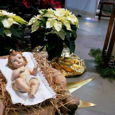 Gesù Bambino Altare Maggiore Natale 2017