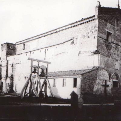 Chiesa prima della demolizione