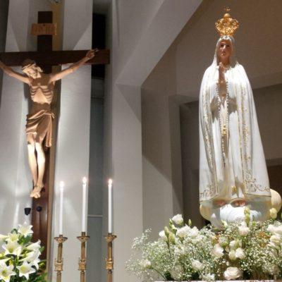 La Statua della Madonna di Fatima