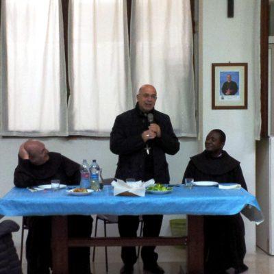 Cena con i responsabili dei gruppi parrocchiali