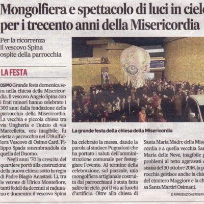Rassegna stampa - Corrierre Adriatico 30/01/2018